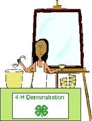 Image result for 4-H presentation day clip art