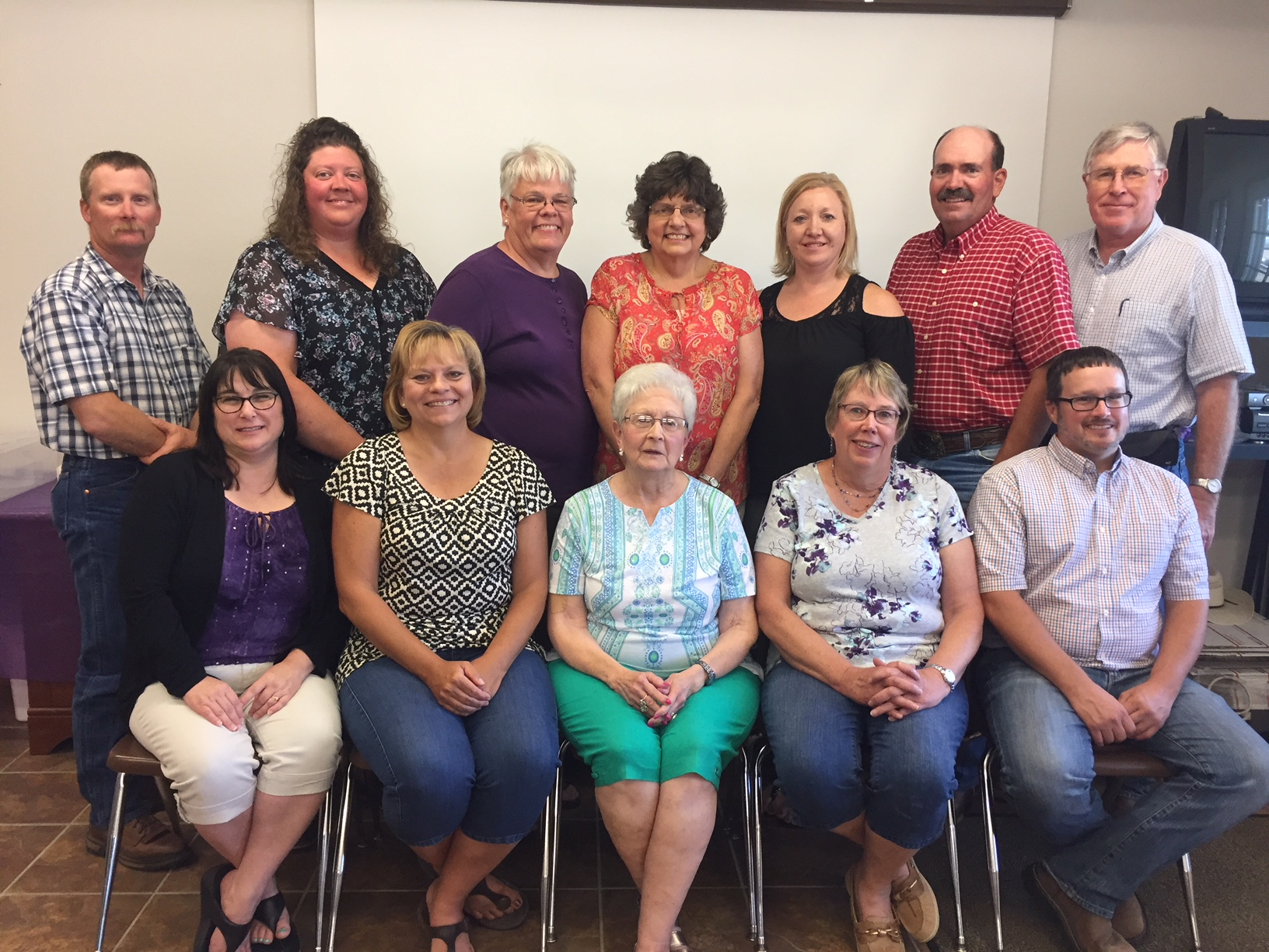 2018 Frontier District Extension Board