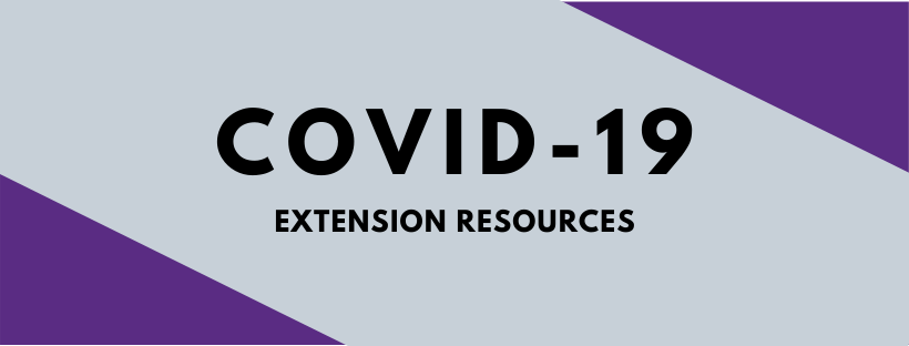 COVID-19 Extension Resources