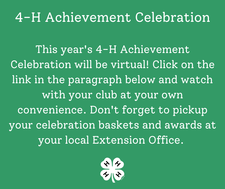 4-H Achievement Celebration