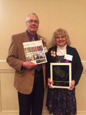 Jean & Doug Higbie 2017 Master Farmer/Homemakers Winners